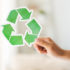 Recycled material in building products earns points in the LEED system