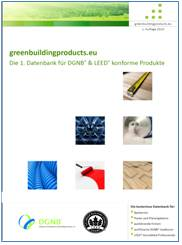 greenbuildingproducts.eu DGNB LEED broschuere